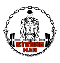 strong men 0004 vector image