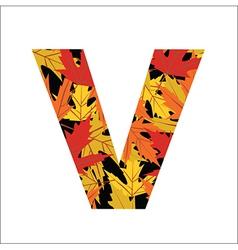 V Letter vector