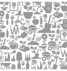 Garden a background vector image vector image