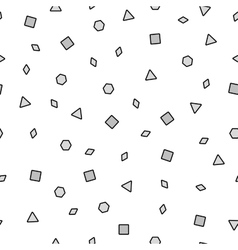 Abstract memphis pattern vector