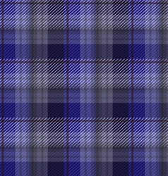 Blue tartan plaid backgroun vector