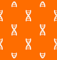 dna strand pattern seamless vector image