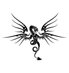dragon 5 vector image
