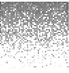 fading pixel greyscale backdrop vector image