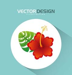 Floral icon design vector