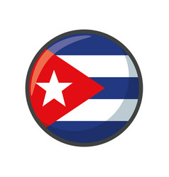 Isolated puerto rico flag icon block design vector