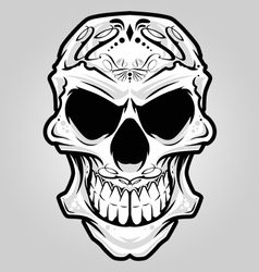 Mexico skull vector