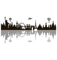 world landmark image vector image
