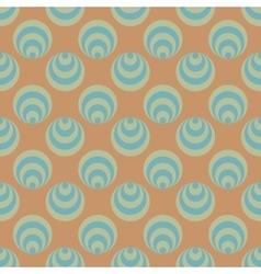 Polka dot and circle geometric seamless pattern 59 vector image vector image