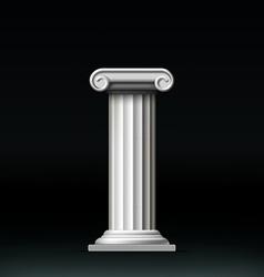 Antique white column vector image