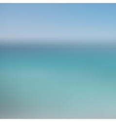 Abstract blurred background sky and sea vector image