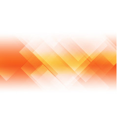 abstract orange background with geometric shapes vector image