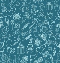 celebration pattern vector image