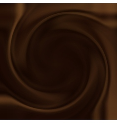 Chocolate swirl vector