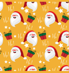 Christmas holiday season seamless pattern vector