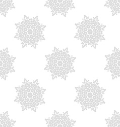 Light gray seamless pattern of openwork stars vector