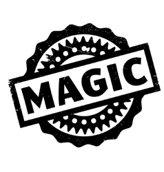 Magic rubber stamp vector