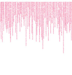 Pink glitter sparkle on a transparent background vector