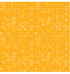 simple repeated pattern bright yellow resquare vector image