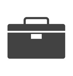 work bag icon vector image