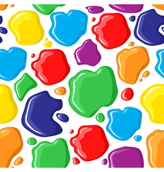 paints pattern vector image vector image