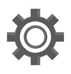 Industrial wheel cog industry symbol vector image vector image