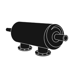 Water filter machine icon in black style isolated vector image vector image