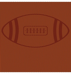 american football background vector image vector image