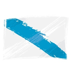 Grunge Galicia flag vector image