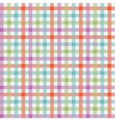 Colorful checkered tablecloths pattern vector image
