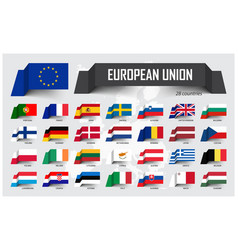 european union eu and membership association vector image
