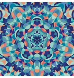 Kaleidoscope geometric colorful pattern Abstract vector