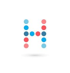 Letter H logo icon design template elements vector