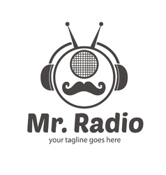Mr Radio Logo vector