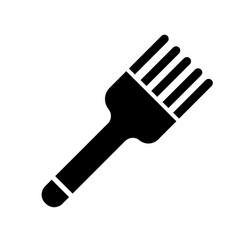 pastry brush icon vector image