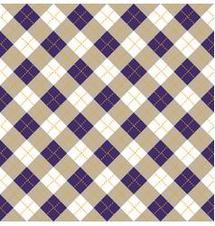 Purple argyle halloween seamless pattern design vector