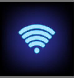 wifi icon 2 vector image