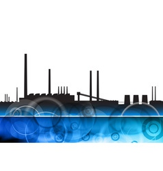 artistic factory vector image