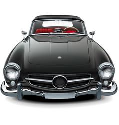 Classic soft top convertible vector