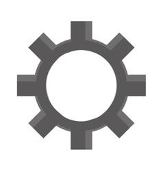 industry wheel cog industrial icon vector image