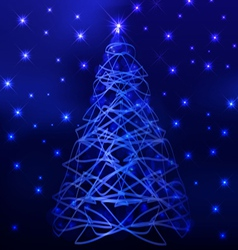 christmas night luxury backgrounds 1 vector image vector image