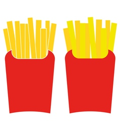 French Fries vector image