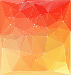 abstract orange yellow colorful vector image