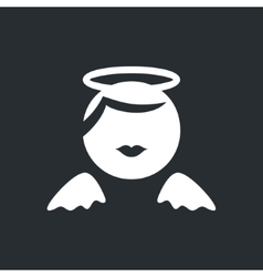 Angel sign vector image