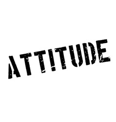 Attitude rubber stamp vector