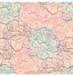 Floral ornamental seamless vector