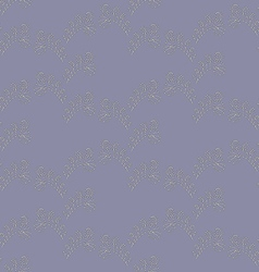 Seamless Abstract Floral Shimmering Pattern vector image