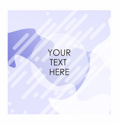 white and purple color bakcground with typogrpahy vector image