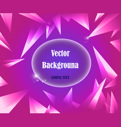 abstract geometric background purple wit vector image