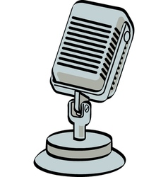 Microphone vector image vector image